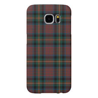 濃紺および赤のMacLennanの一族のスコットランド人の格子縞 Samsung Galaxy S6 ケース