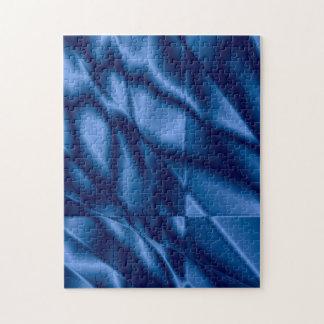 濃紺のステンドグラスのパズル ジグソーパズル
