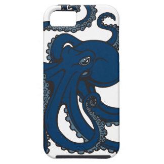 濃紺のタコ iPhone SE/5/5s ケース