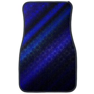 濃紺のダマスク織 カーマット