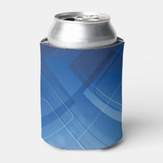 濃紺のハイテクな背景 缶クーラー