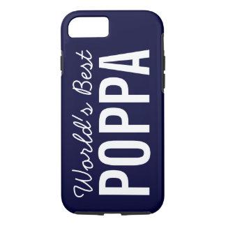 濃紺の世界で最も最高のなPoppaのカスタムなiPhone 7の場合 iPhone 8/7ケース