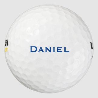 濃紺の名前をカスタムする ゴルフボール
