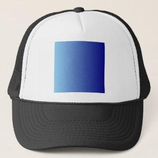 濃紺の垂直勾配への青 キャップ