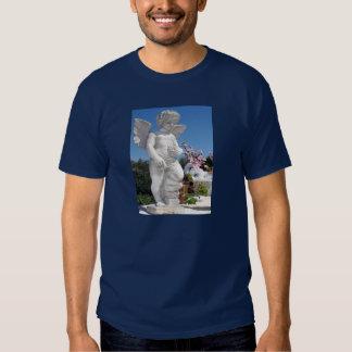 濃紺の天使の彫像 Tシャツ