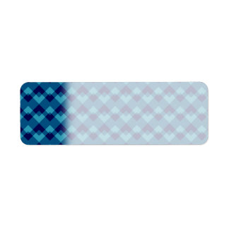 濃紺の幾何学的なパターン ラベル