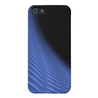 濃紺の未来派の螺線形のトンネル iPhone 5 カバー