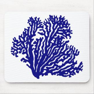 濃紺の沿岸珊瑚 マウスパッド