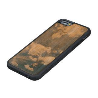 濃紺の深い空 CarvedチェリーiPhone 6バンパーケース