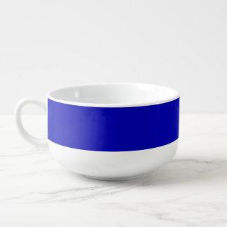 濃紺の無地 スープマグ