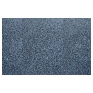 濃紺の穀物ののどの革 ファブリック