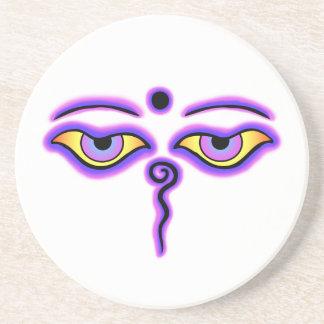 濃紺の紫色の仏はcopy.pngを注目します コースター