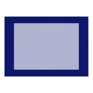 濃紺の背景 12.7 X 17.8 インビテーションカード