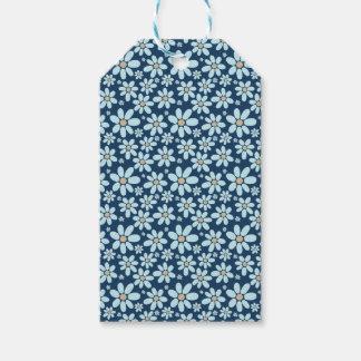 濃紺の花 ギフトタグ