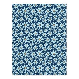 濃紺の花 ポストカード