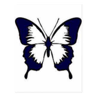 濃紺の蝶 ポストカード