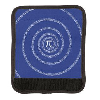 濃紺の装飾のPiのための螺線形 ラゲッジ ハンドルラップ