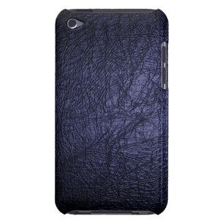 濃紺の革質のipod touchの場合 Case-Mate iPod touch ケース