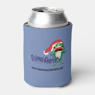濃紺のFishmasはクーラーボックスをチャーターします 缶クーラー