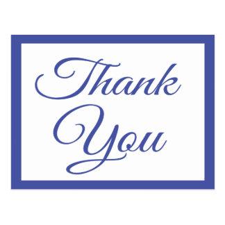 濃紺は挨拶の郵便はがき感謝していしています はがき