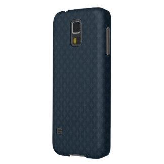 濃紺パターン-カスタムなSamsungの銀河系S5の箱 Galaxy S5 ケース
