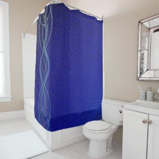 濃紺ライト シャワーカーテン