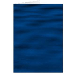濃紺水さざ波 カード