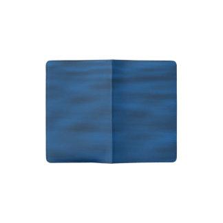 濃紺水さざ波 ポケットMoleskineノートブック