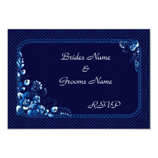 濃紺   RSVPカード カード