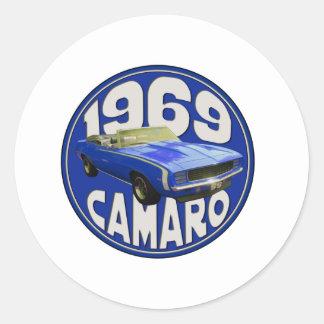 濃紺SS Camaro 1969 ラウンドシール