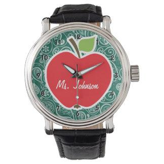 濃緑色のペイズリー; Apple 腕時計