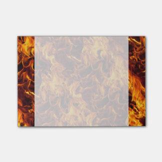 火および炎パターン ポストイット