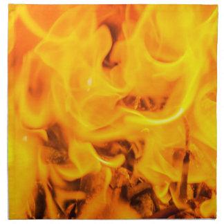 火および炎 ナプキンクロス