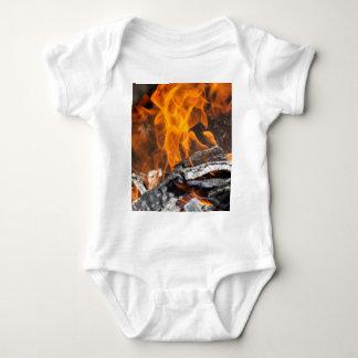 火および炎 ベビーボディスーツ