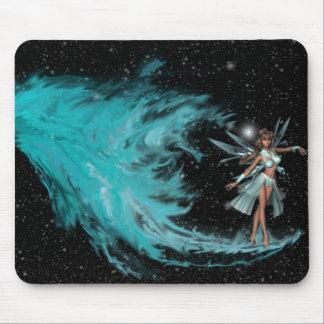火からのKRWのFaery -青いFaeryの誕生 マウスパッド