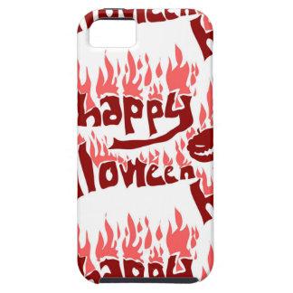 火とのハッピーハローウィンは文字をタイルを張りました iPhone SE/5/5s ケース