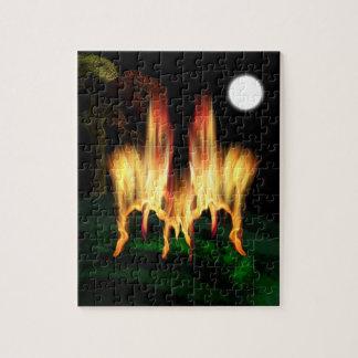 火のはえ ジグソーパズル