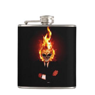 火のスカル フラスク