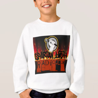 火のデザインでグランジなスパルタ式の青年ラジオ スウェットシャツ