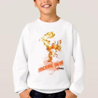 火のトリック スウェットシャツ