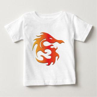火のドラゴン ベビーTシャツ