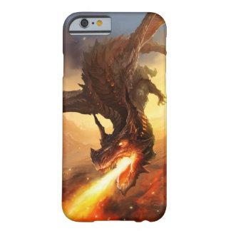 火のドラゴン BARELY THERE iPhone 6 ケース
