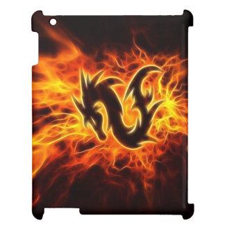 火のドラゴン iPadカバー
