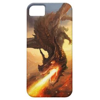 火のドラゴン iPhone SE/5/5s ケース