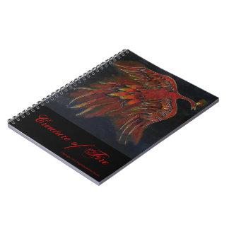 火のノートの創造物 ノートブック