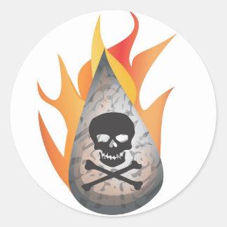 火のハイドロfrack水 ラウンドシール