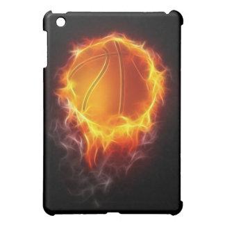 火のバスケットボール iPad MINIケース