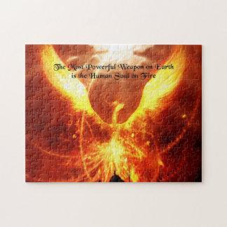 火のパズルの精神 ジグソーパズル