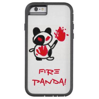 火のパンダ!! TOUGH XTREME iPhone 6 ケース