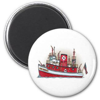 火のボートの円形の磁石 マグネット